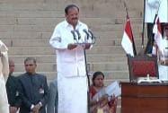 Venkaiah Naidu takes oath