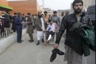 A Pakistani student, who was injured in a Taliban attack in a school