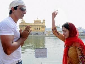 Sonu Sood, Tamannaah paying obeisance at Golden Temple