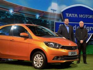 Chairman of Tata Group Cyrus Mistry at the launch of Tata Zica