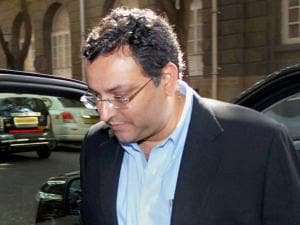 Ousted Tata Sons Chairman, Cyrus Mistry, arrives for Tata Steel's board meeting