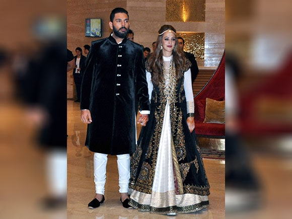 Wedding, Yuvraj Singh, Hazel Keech, Ring Ceremony, Ceremony