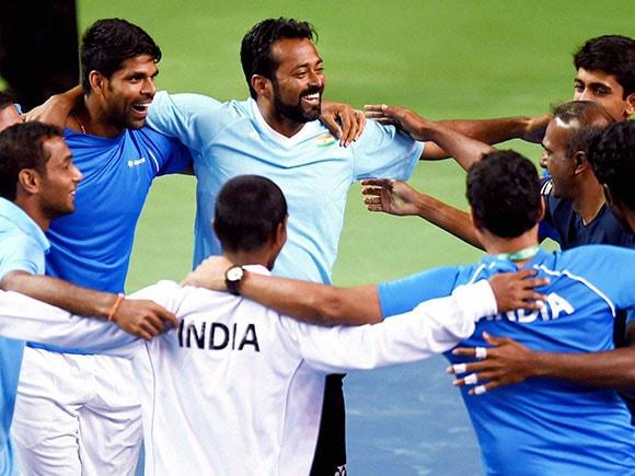 Davis Cup, Leander Paes, Vishnu Vardhan, Davis Cup Doubles, Artem Sitak, Pune