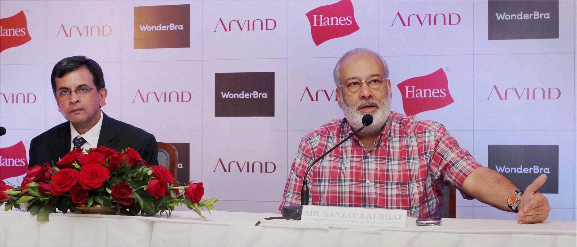 Arvind Lifestyle Brands, Sanjay Lalbhai, J Suresh