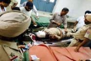 Injured SP Baljit Singh