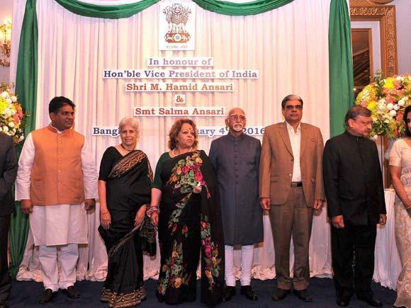 Hamid Ansari, India vice president ,Thailand ,Bangkok, Bangkok visit, Salma Ansari