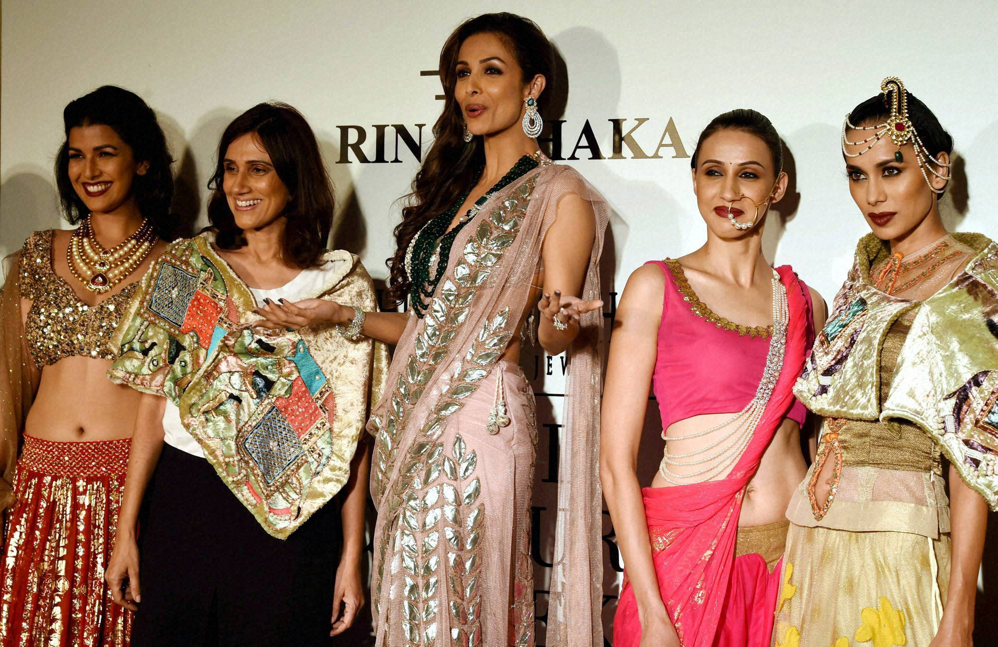 Actor, Malaika Arora Khan, India, Couture Week, 2014, New Delhi,