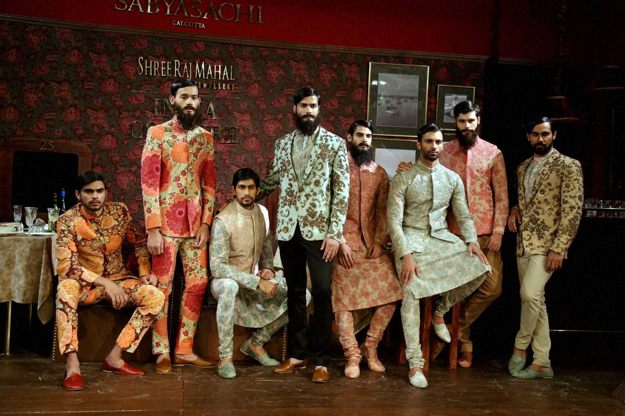 Sabyasachi Mukherjee's, creation, Ferozabad, showcased, the India Couture Week 2014, New Delhi