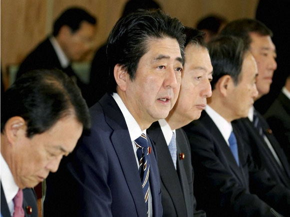 Prime Minister of Japan, Shinzo Abe, Journalist Kenji Goto, Foreign Ministry of Japan, Turkey