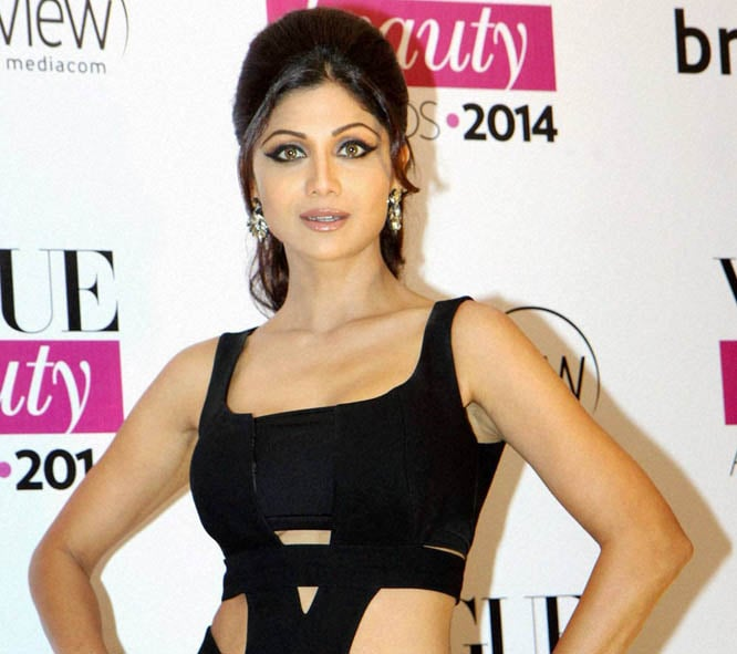 Bollywood actor, Shilpa Shetty, Vogue Beauty Awards 2014, Mumbai