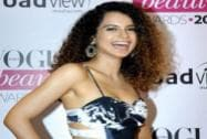 Bollywood actor Kangna Ranaut at the Vogue Beauty Awards 2014 in Mumbai