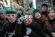 Japan to celebrate New Year's Eve in Times Square hours before the start of the celebration in New York