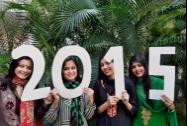 Students welcome new year on its eve in Moradabad