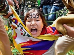 58th anniversary of Tibetan National Uprising Day, against the Chinese rule in Tibet