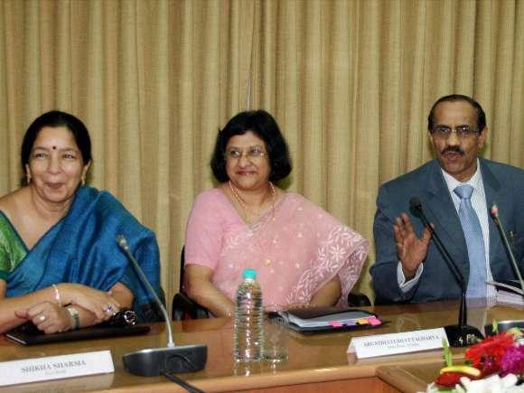 Shikha Sharma, Arundhati Bhattacharya, K R Kamath, Chanda Kochhar