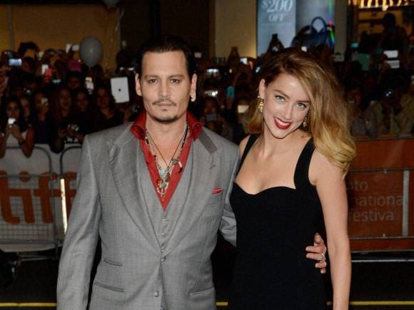 Johnny Depp, Amber Heard, Black Mass