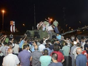 Military coup foiled in Turkey