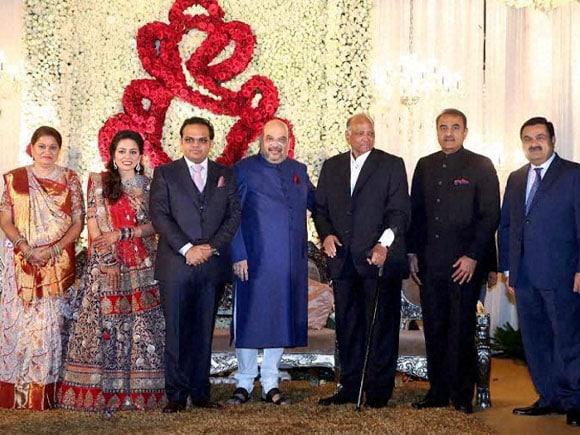 BJP President,  Amit Shah, Jay, Rishita, Sharad Pawar, Praful Patel, Gautam Adani