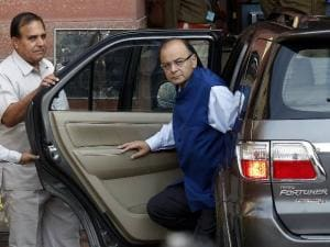 arun jaitley during budget 2015
