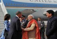 PM Modi greets US President MR. Barack Obama