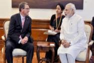 US Secretary of Defence meets Narendra Modi