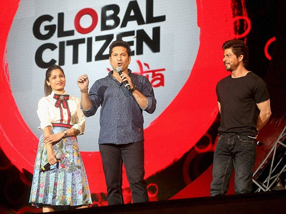 Sachin Tendulkar, Global Citizen, Global Citizen Festival