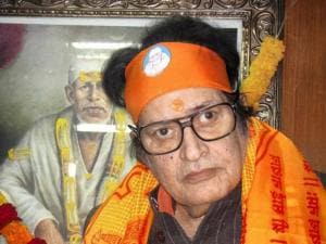 File photo of Bollywood actor Manoj Kumar who will be conferred the Dadasaheb Phalke award for his contribution to the film industry