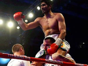 Vijender Singh  won the WBO Asia Pacific Super Middleweight Championship
