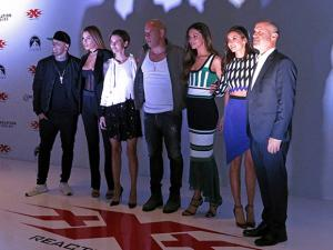 Diesel's new film as agent Xander Cage made its world premiere in Mexico City