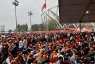 A large mass gathering at Virat Hindu Sammelan