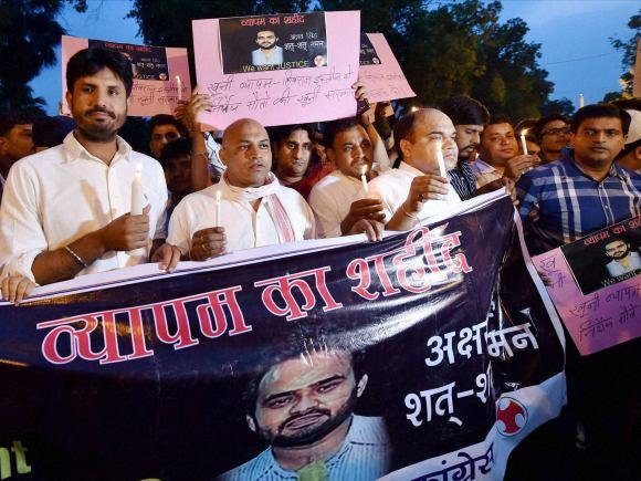 Congress, Vyapam Scam, Shivraj Chouhan, Madhya Pradesh, Narendra Modi, BJP, Aaj Tak, Akshay Singh, Television, Journalist, Bhopal