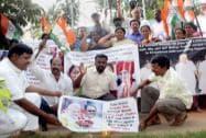 Congress demands sacking of MP CM Shivraj Chouhan
