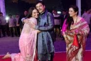 Shatrughan Sinha with daughter Sonakshi and wife Poonam