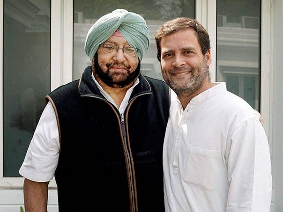 Amrinder Singh, Capt Amrinder Singh, Punjab election results 2017, Punjab Congress President, Rahul Gandhi, Congress, INC