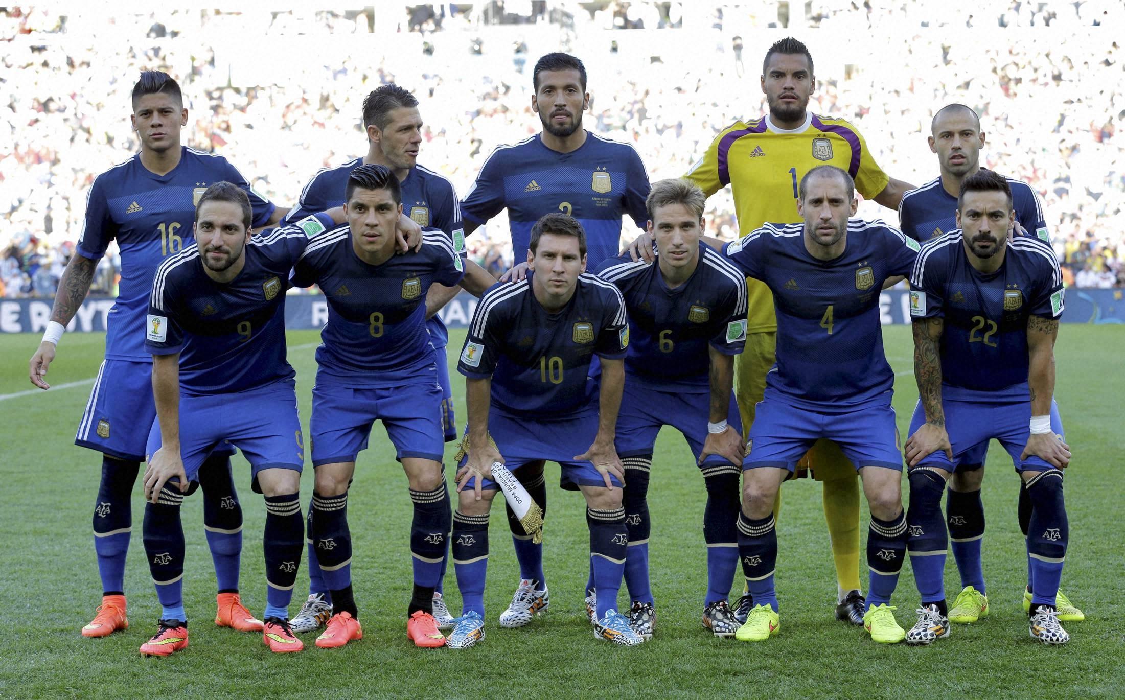 World Cup final, soccer, match, Germany, Argentina, Maracana Stadium, Rio de Janeiro, Brazil