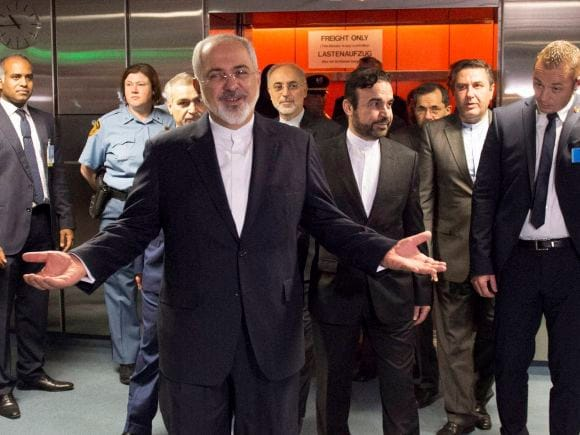 Foreign Minister of Iranian, Mohammad Javad Zarif