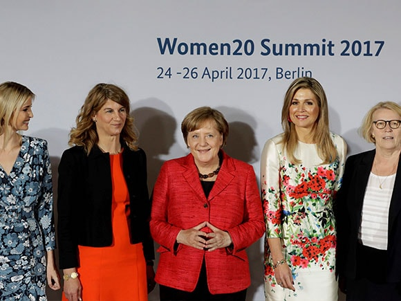 Ivanka Trump, Angela Merkel, Queen Maxima, W20 Summit 2017