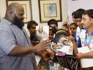 WWE Superstar Mark Henry in Delhi