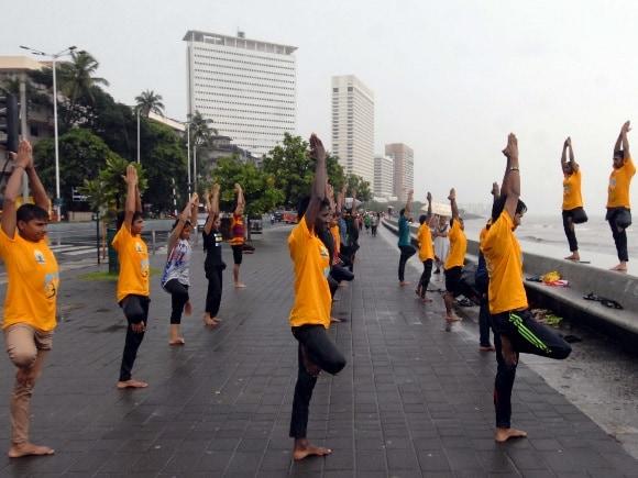 Yoga, Mumbai