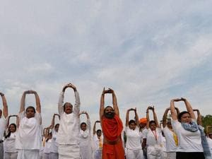 Yoga Camp 2016 Rajpath Delhi