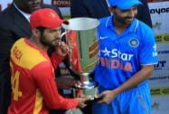 Zimbabwean captain Sikandar Raza and  Indian captain Ajiknya Rahane