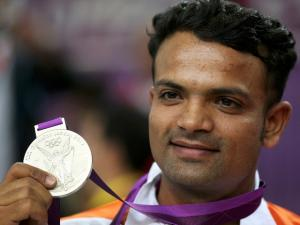 Vijay Kumar, Silver in shooting in 2012 Olympics