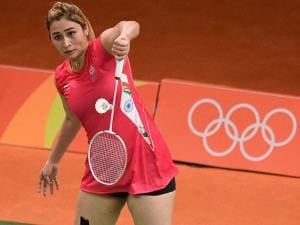 Jwala Gutta  play Women Double against Japan during Rio Olympic 2016