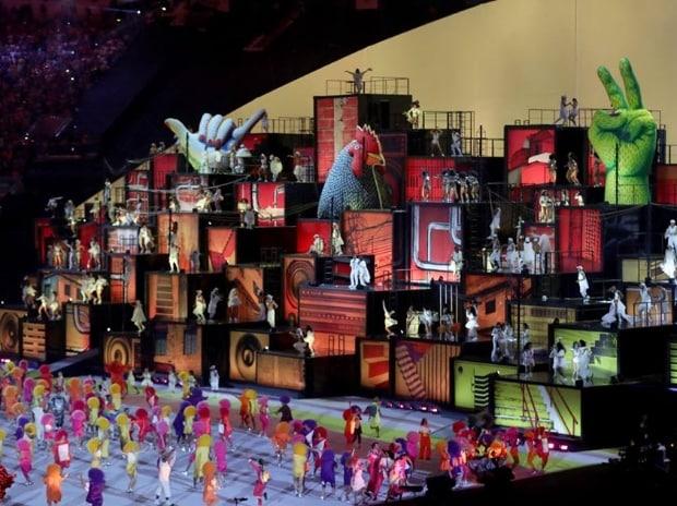 Rio, Olympics, ceremony, parade, Samba, Abhinav Bindra, Brazil, Andy Murray, flag, games, athletes