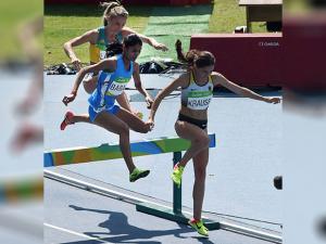 Lalita Shivaji Babar Participates in Women's 3000m Steeplechase