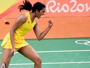 PV sindhu at Rio 2016