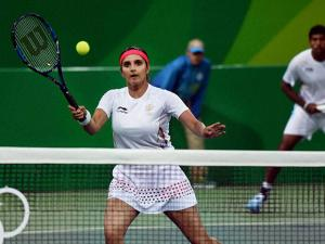 Sania Mirza and Rohan bhopanna play against  S. Stosur and J. Peers of Australia