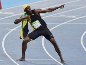 Usain Bolt- Sprinting towards immortality