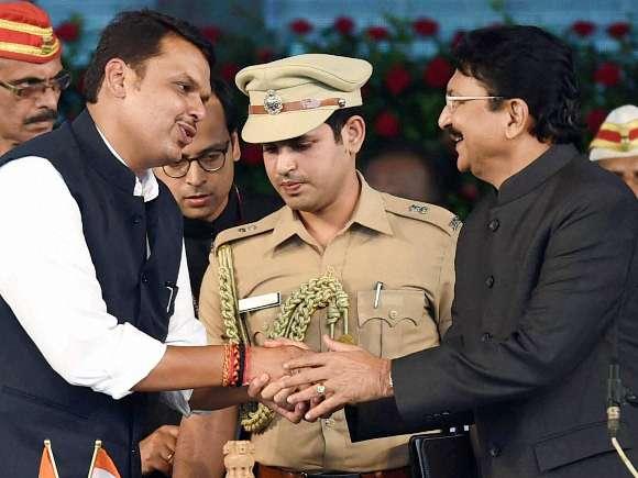Devendra Fadnavis, Narendra Modi, Uddhav Thackeray, Pankaja Munde