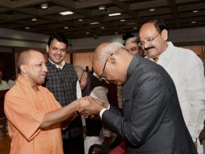 Kovind files Presidential nomination